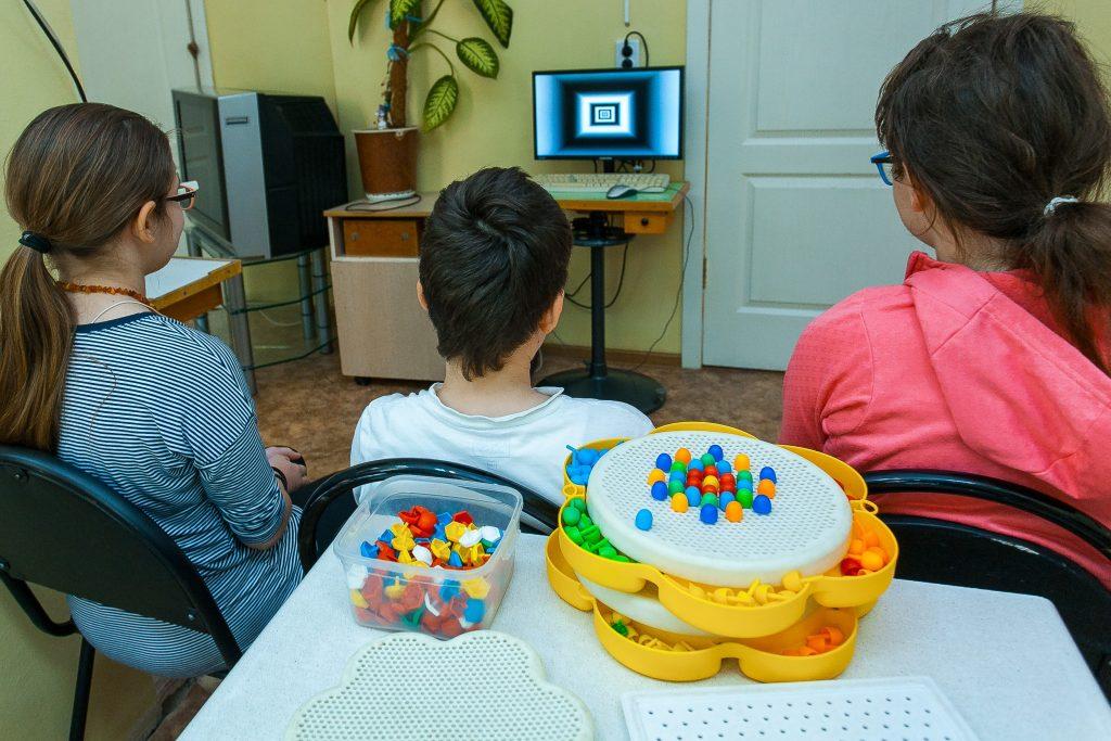 кабинет плеоптоортоптического лечения детская офт